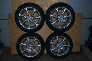 205/55R-16 Winter Tires and rims for BMW