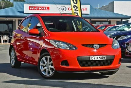 2008 Mazda 2 DE10Y1 Neo Red 4 Speed Automatic Hatchback Tweed Heads Tweed Heads Area Preview