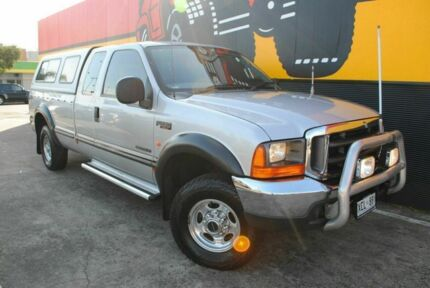 2004 Ford F250 RN XLT Super Cab Ghost Gum Silver 4 Speed Automatic Utility Melrose Park Mitcham Area Preview