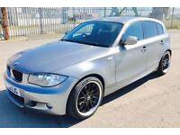 BMW 1 SERIES 2.0 120D M SPORT 5d 175 BHP (grey) 2010