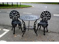 Garden furniture patio set in 3 colours