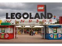 X2 Legoland tickets 7-10-16
