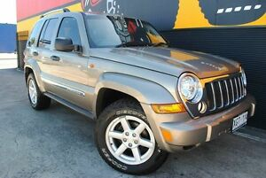 2005 Jeep Cherokee KJ MY2005 Limited Harvest Gold 4 Speed Automatic Wagon Melrose Park Mitcham Area Preview