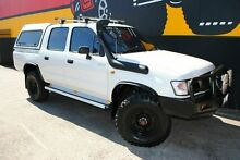 2002 Toyota Hilux RZN169R MY02 Solid White 5 Speed Manual Utility Melrose Park Mitcham Area Preview