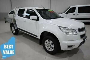 2014 Holden Colorado RG MY14 LX Crew Cab 4x2 White 6 Speed Sports Automatic Cab Chassis Kenwick Gosnells Area Preview