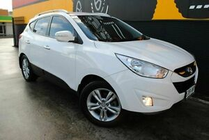 2013 Hyundai ix35 LM2 Elite AWD Pure White 6 Speed Sports Automatic Wagon Melrose Park Mitcham Area Preview