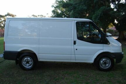 2008 Ford Transit VM Low (SWB) White 6 Speed Manual Van Five Dock Canada Bay Area Preview