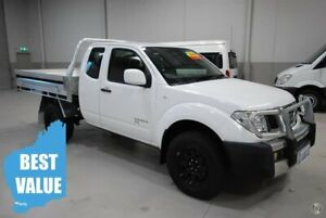 2013 Nissan Navara D40 S8 RX King Cab White 5 Speed Automatic Cab Chassis Kenwick Gosnells Area Preview