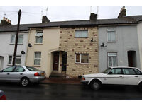2 bedroom mid terrace unfurnished house, for long term rent Chatham ME5 Available 28/7/16
