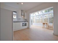 Brondesbury. Beautifully presented newly refurbished 3 bedroom 3 bathroom apartment with garden.