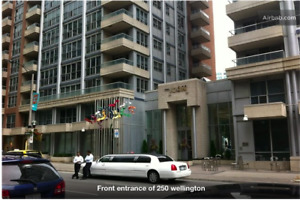 250 wellington st icon 2  lux 1+den available aug free hydro