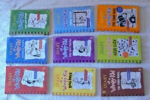 Factory Sealed-Diary of a Wimpy Kid- #1-9 (brand new) London Ontario image 1