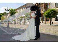 PRONOVIAS SPAIN - WEDDING DRESS size 8-10