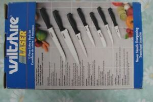 New kitchen knife set / Cutlery set