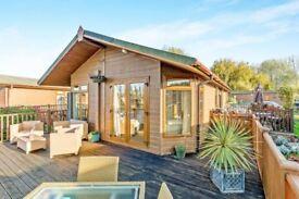 Luxury Lakeside Lodge sited on a premium plot.