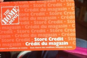 Home depot store credit $3000