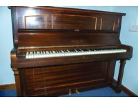 Brasted Iron Framed Upright Piano