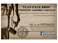 """Flat-pack bros"" furniture assembly services"
