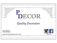 Quality, Experienced Painter & Decorator