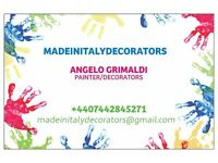 PAINTER/DECORATOR FROM ITALY WITH CSCS CARD INFO: 07442845271 ANGELO