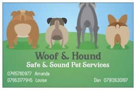 Woof & Hound Dog Walking and Pet Services