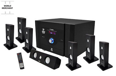 Best Whole Home Theater System Sound Surround Bundle Kit Bluetooth 7.1 Ch (Best Pyle Home Audios)