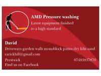 A.M.D . Driveway Cleaning. Prestwick.