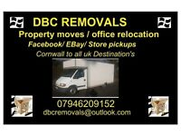 DBC REMOVALS HAYLE CORNWALL & UK WE ALSO OFFER A MAN & VAN SERVICE AS WELL