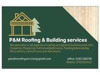 P & M Roofing and building services