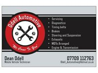 Odell Automotive Mobile mechanic