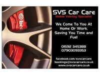 Mobile Valeting Services - Top Quality Service and Results - Covering Fife - Book Today