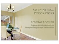 SM painter & decorators + coving