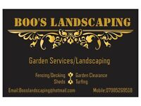 Landscaping and Garden Services -No Job Too Small