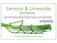 Lemons & Limescale- Regular arrangements/Deep cleans/End of tenancy