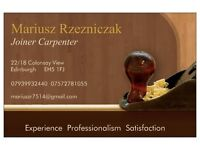 Carpenter Joiner 20 Years of Experience
