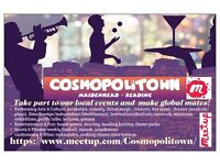 Cosmopolitown: Local Events, Global Mates. Performing Arts & Culture, Entertainment & Fun, Sports