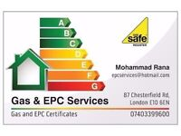 Gas safe Certificate and (EPC) Energy Performance Certificate