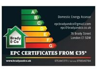 EPC CERTIFICATES FROM £35*