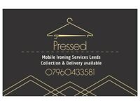 Pressed Mobile Ironing Services Leeds