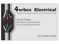 4orbez Electrical - Fully Qualified time served Electrician.