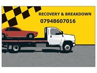 24/7 CAR RECOVERY + BREAKDOWN +ROADSIDE ASSISTANCE VEHICLE