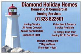 Ironing Services, Fakenham, Wells Next The Sea, Blakeney, Cromer, Sheringham, Holt, North Norfolk