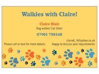 Dog Walker/Cat sitter- Eastend, Bargeddie and Uddingston