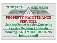 Property maintenance services, Perth, dundee, FIfe