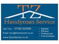 Handyman services Birmingham / Solihull