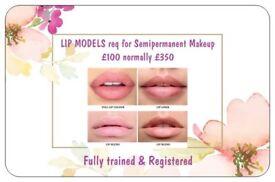 Semipermanent Makeup Lips