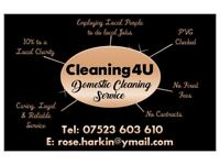 Cleaning4U Dundee Domestic Cleaning service