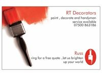 RT decorators and handyman service