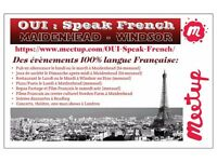 Oui Speak French, Maidenhead/Windsor social events!