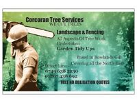 Corcoran Tree Services Including Landscaping & Fencing